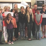 Idyllwild School students award grant recipients