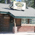 Idyllwild's oldest commercial building, now Log Cabin Realty, built in 1917.  Photos by Marshall Smith