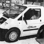 This little electric car was on display during the 1993 Earth Fair at Town Hall. This year's event takes place this weekend, still at Town Hall and marks the festival's 24th year.          File photo