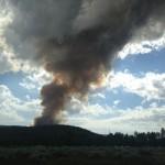 Little Fire near Thomas Mountain