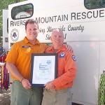 Dangerous RMRU rescue garners award