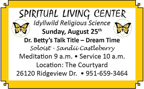spiritual living center