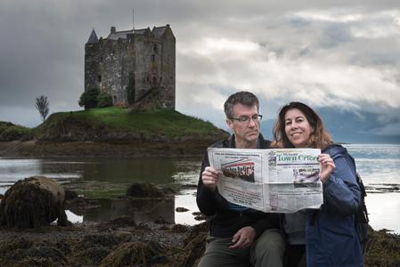 "Friesens Tour Scotland and Find ""Castle AAArrrghh!"""