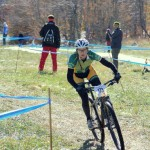 On Saturday, Oct. 26, Idyllwild's Emma Klingaman finished eighth in the Collegiate Mountain Bike Nationals cross-country meet, in very muddy conditions. The day before, she raced the Division 1 short track in miserable conditions — 15 degrees F and snowing — and finished 10th. Emma is a freshman at Lees-McRae College in North Carolina. Photo by Michael Morton