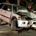 Traffic accident in Fern Valley