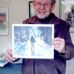 At 80, artist Glasheen keeps reinventing himself