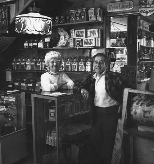 June and Tim Scovotti, owners of Bits and Pieces, a country store located between where La Casita and the Swiss Fondue House is today. The photo was published in November 1972. File photo