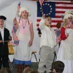 Students stage patriotic play