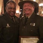 Robert Peek receives  valor award