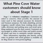 Pine Cove declares water emergency  effective April 1