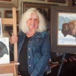 Artist Millie Shaw finds peace in Garner Valley