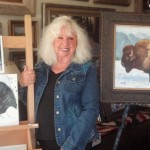 Artist Millie Shaw finds peace in Garner Valley