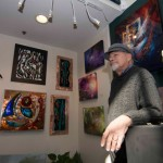 Ron Singerton exhibits artistic versatility