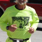 Mark Dean finishes Boston Marathon