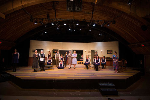 "The Idyllwild Arts Academy's theater production of ""The Children's Hour"" next weekend was rehearsed on Sunday. The performance will be held at the IAF Theater on Friday and Saturday, April 11 and 12 at 7:30 p.m. and again on Sunday, April 13 at 2 p.m.     Photo by John Pacheco"
