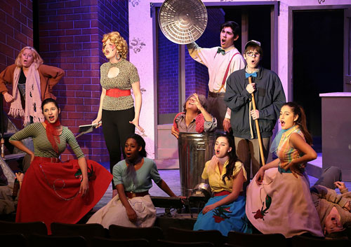 """""""Little Shop of Horrors"""" performed at Idyllwild Arts in the IAF Theatre over the weekend. This was the last theatrical performance of the school year. Photo by Jenny Kirchner"""