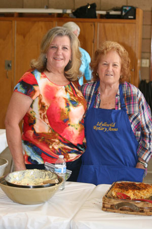 The Rotary Ann's hosted their annual potluck luncheon at the Idyllwild Fire Department on Thursday, May 29. The luncheon is hosted to thank the many service organizations on the Hill.      Photo by Jay Pentrack
