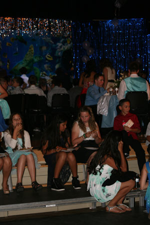 Idyllwild Middle School students celebrated the end of the school year with a dance at the Idyllwild School Gym on Wednesday, May 28. Photo by Jay Pentrack