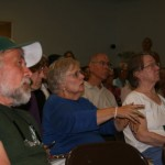Crowd comes out for fire chiefs meeting
