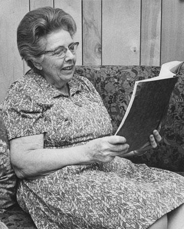 Edna Calkins Price, 1899-1975. File photo