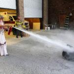 PHOTO: Mountain Disaster Preparedness: Fire extinguisher training