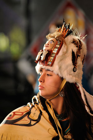 Native American Arts week at Idyllwild Arts Summer Programs.        Photo courtesy Idyllwild Arts