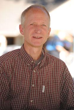 Bob Leih, middle school science teacher at Idyllwild School. Photo by J.P. Crumrine