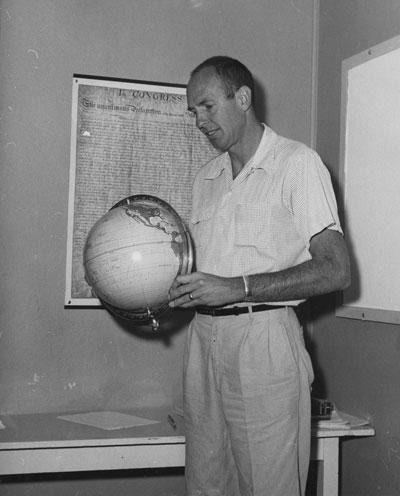 Paul Greene, Idyllwild School principal until 1961. File photo