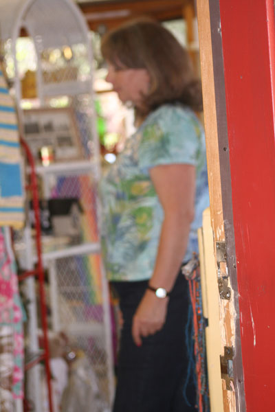 Terri French of Let it Shine gift shop was devastated to learn of the break-in at her business when she arrived Monday morning.