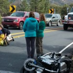Two crashes over weekend