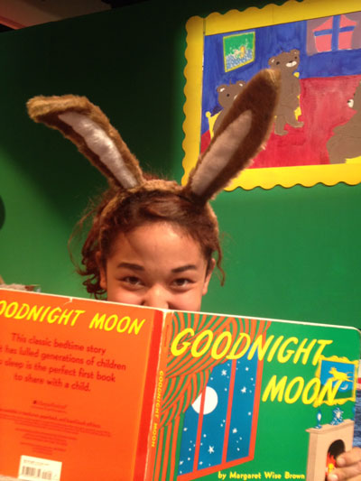 """Maria Perez plays Bunny in the Hemet High School production of """"Goodnight Moon.""""  Photo by Bret CherlanD"""