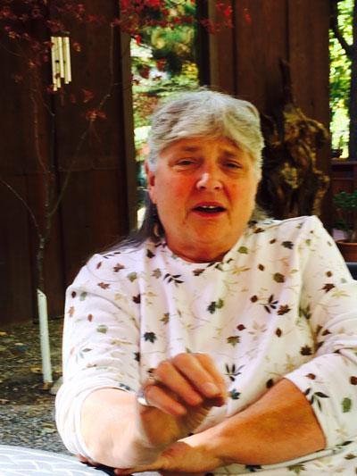 Mary Morse, new director of Idyllwild's Spirit Mountain Retreat.   Photo by Marshall Smith