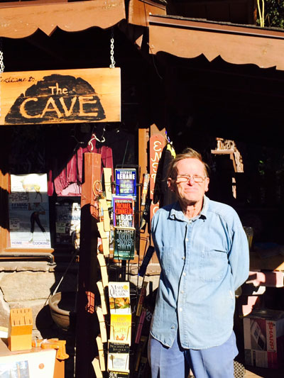 Steve Moulton at the Cave. Photo by Marshall Smith