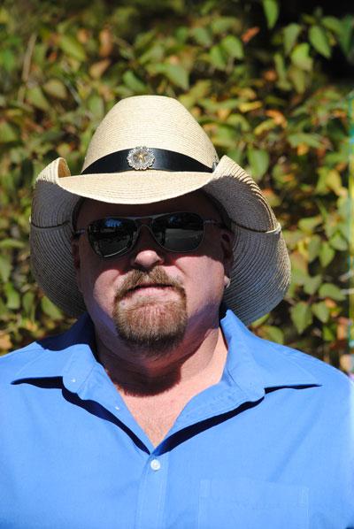 Steve Savage, executive creative director for the Ramona Bowl Amphitheater.        Photo by J.P. Crumrine