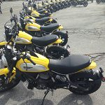 Why are all these Ducati motorcycles in Idyllwild?