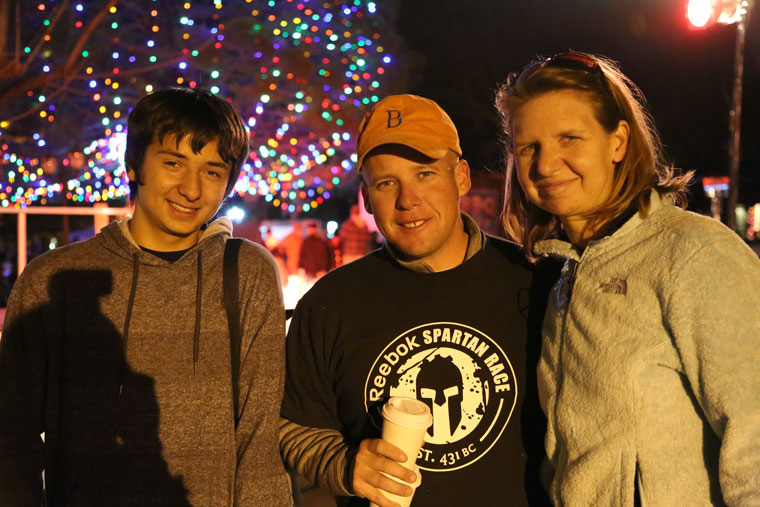 Kymberlea, JT, and Craig Davis  Photo by Cheryl Bayse