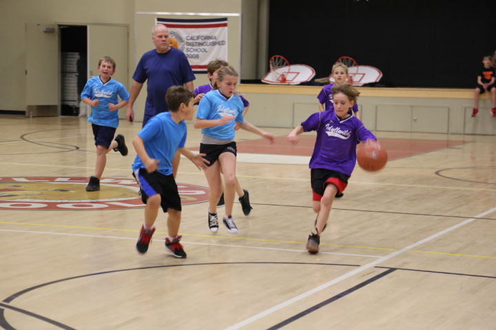 Town Hall basketball games continued last week. Photo by Cheryl Basye