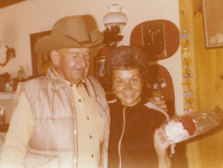 Joe and Leona McGaugh in the 1970s.