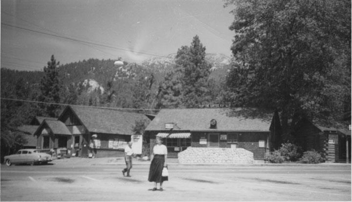 Downtown Idyllwild, September, 1953. File photo