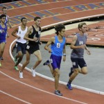Emerson second at first indoor track meet
