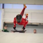 Lauren Salter excels despite serious injury