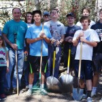 Boy Scouts do good deed