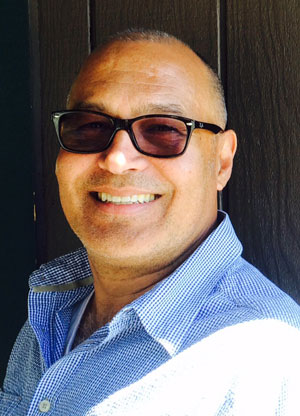 Eduardo Santiago, author, educator and Idyllwild Authors Series founder, is the featured artist this week. Photo by Marshall Smith