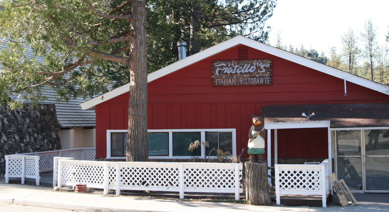 Fratello's, new Italian restaurant on Ridgeview Drive, scheduled to open in two to three weeks. Photo by Marshall Smith