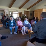 Living Free holds community meeting
