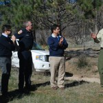 Rep. Ruiz visits Hill, talks with local firefighters