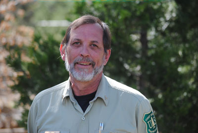 Dan Felix, fire chief for the U.S. Forest Service's San Jacinto Ranger District, is retiring next week. Photo by J. P. Crumrine