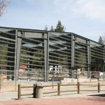 Framework for Lowman Concert Hall