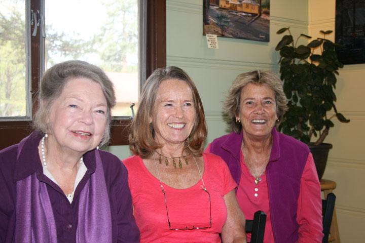 Bronwyn Jones, Anna Ancheta and Dora Dillman, three of Local Color's finest. Photo by Marshall Smith