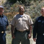 Cal Fire crews conduct trail  abatement in Poppet Flats